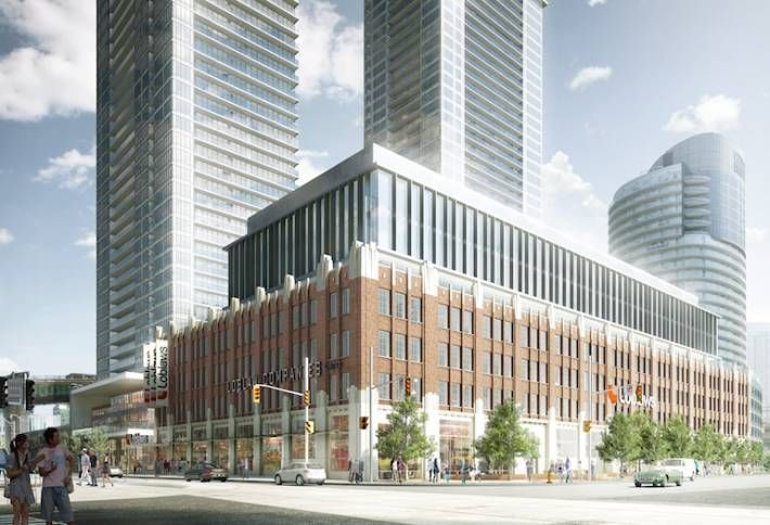 Revealed: Bold Redevelopment Plan for Loblaw's Groceterias Building