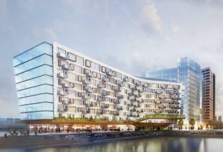 Tishman Unveils Pier 4 Complex