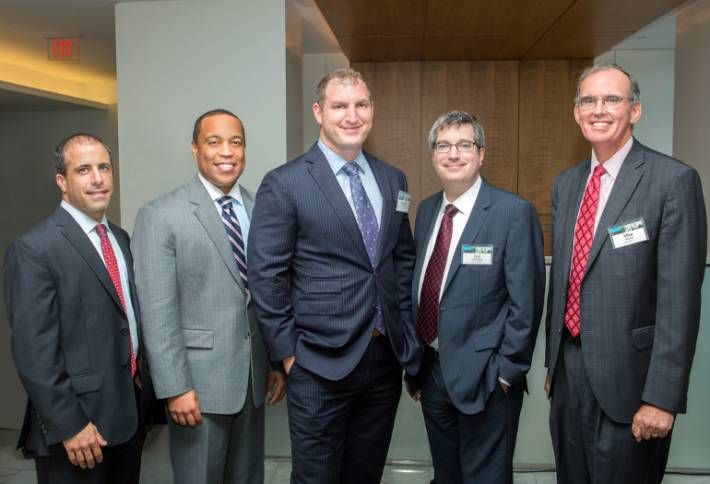 K&L Gates Welcomes Newcomers with Rooftop Reception