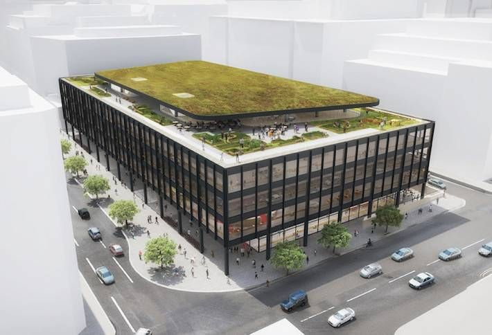 Tweaked MLK Library Plans Approved By Historic Review Board