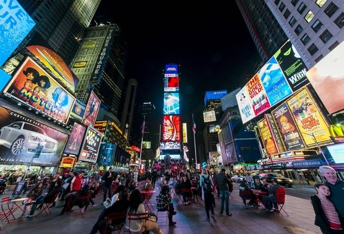 NYC Mayor to Dig Up Times Square Pedestrian Plazas?