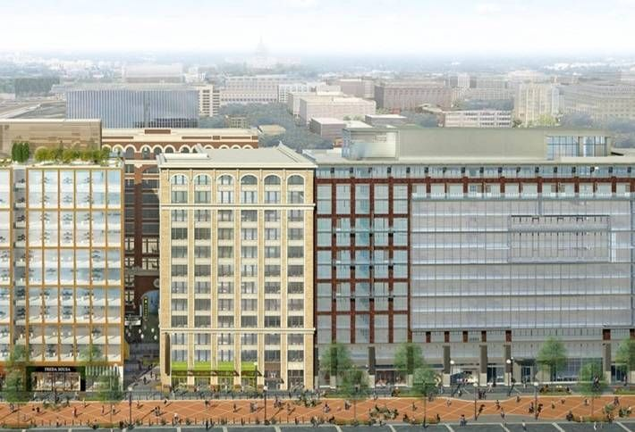 JBG, Brandywine Submit Plans for Mixed-Use Project in NoMa