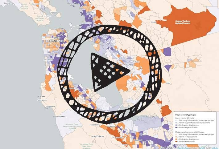 Mapped: UC Berkeley Shows How S.F. Is Getting Richer And Whiter