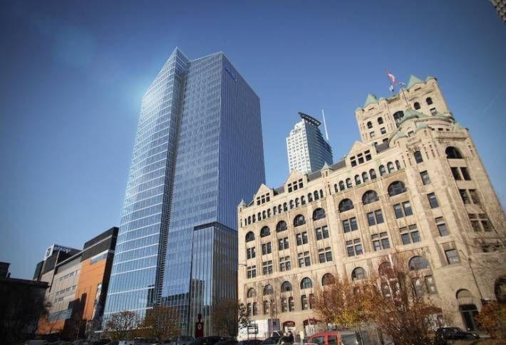 Deloitte Tower in Montreal.