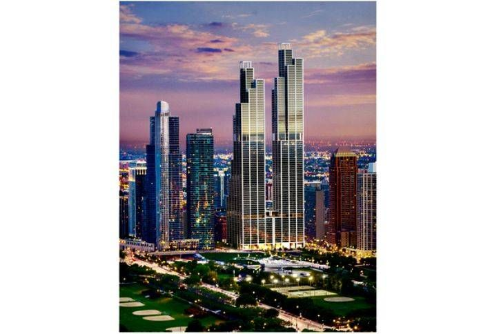 Crescent Heights Wants to Build Twin Towers in South Loop