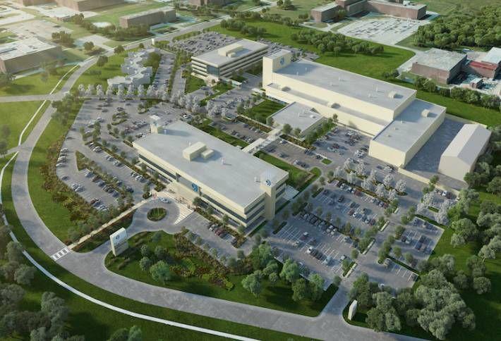 SNC-Lavalin's Sheridan Park complex