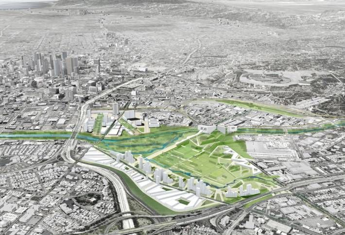 Redeveloping Rail Yard for Olympics Could Drain LA River Restoration Budget