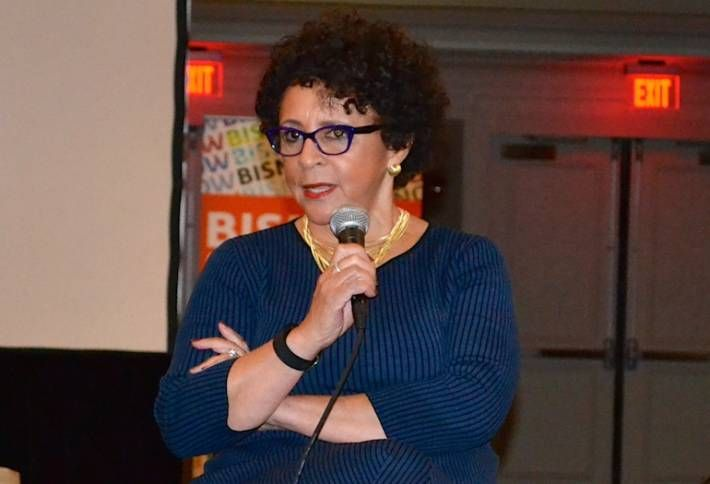 Yesterday at Our National Hotel Conference with BET Founder Sheila Johnson