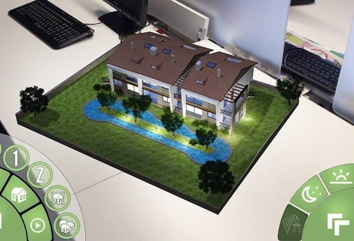 Architectural Models on the Go: AR Pandora's Interactive Architectural Models