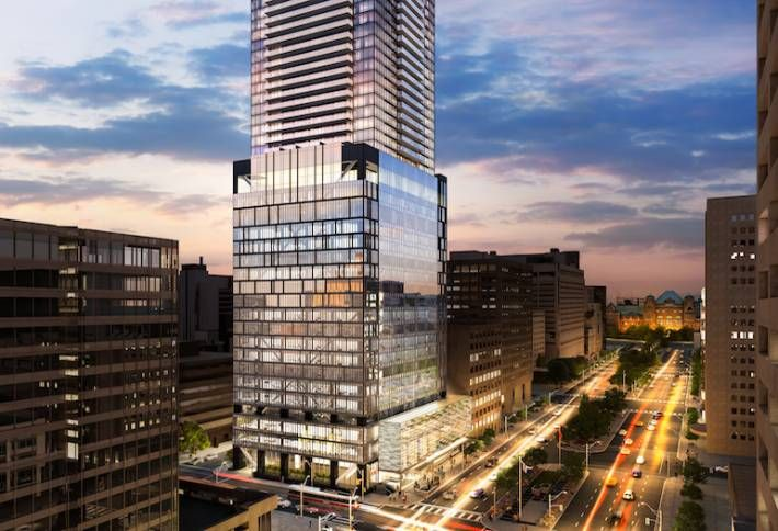 Amexon's 488 University Is an Adaptive Reuse Poster Child