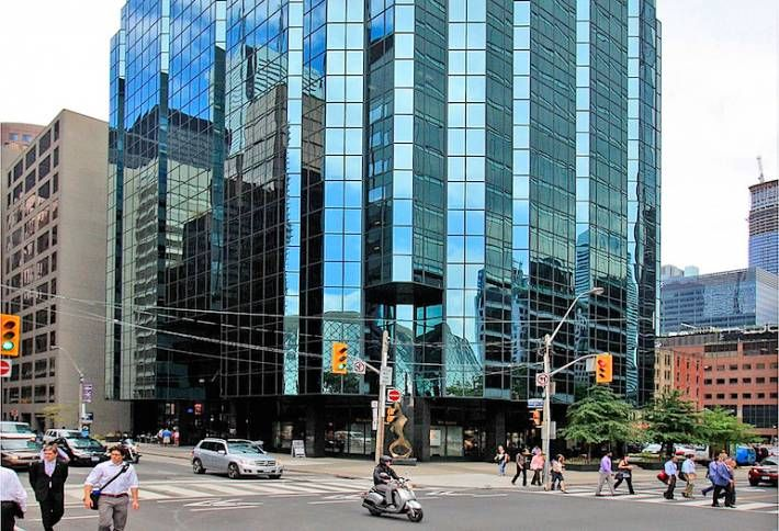 AIG's Exit Spurred Green Revamp at 145 Wellington St W