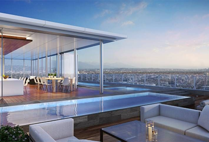 Pricey, Four Seasons-Branded Condo Project Rising in West LA