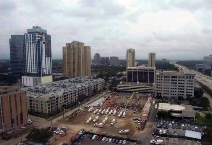 Tilman Fertitta's The Post Oak Moves Construction Forward