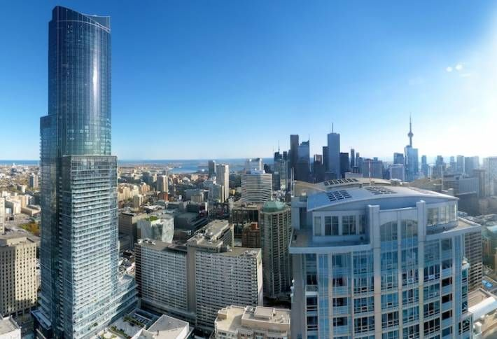 The View From the Top of Canada's Tallest Condo