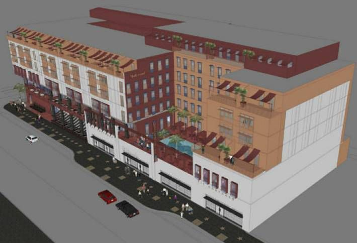 CIM Group Putting New Hotel on Hollywood Boulevard