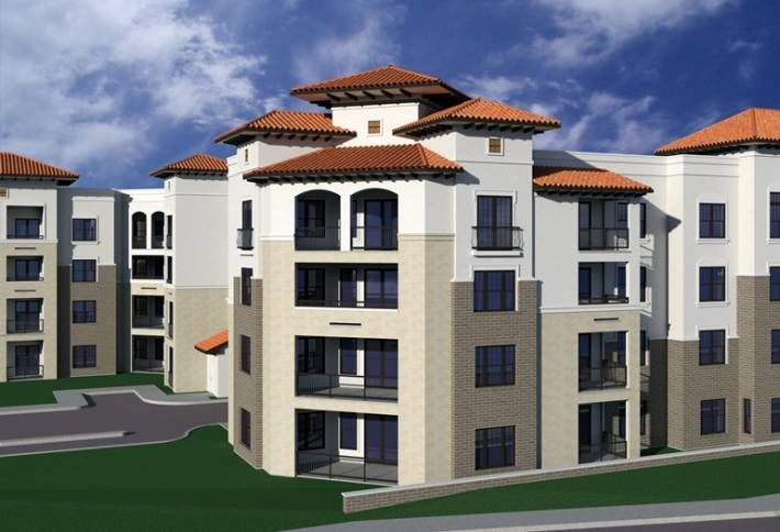 A centerpiece of The Rim, this 427-unit mid-rise apartment complex has Spanish Modern architecture in a four-story wrap design. California-based Frankel Family Trust and Dallas-based Legacy Alliance are developing 1.5M SF project set to deliver this spring. Legacy Alliance is focusing on service-oriented amenities for the project. Cadence McShane is the general contractor for this project at 16333 Vance Jackson Road in San Antonio.