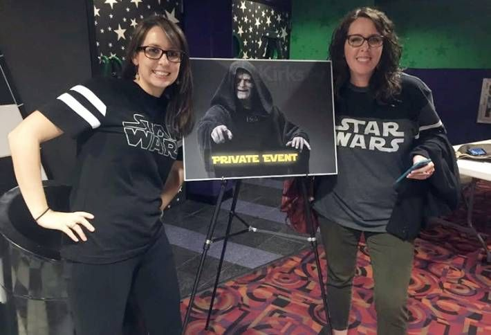 Kirksey Rents Out Theater for Star Wars
