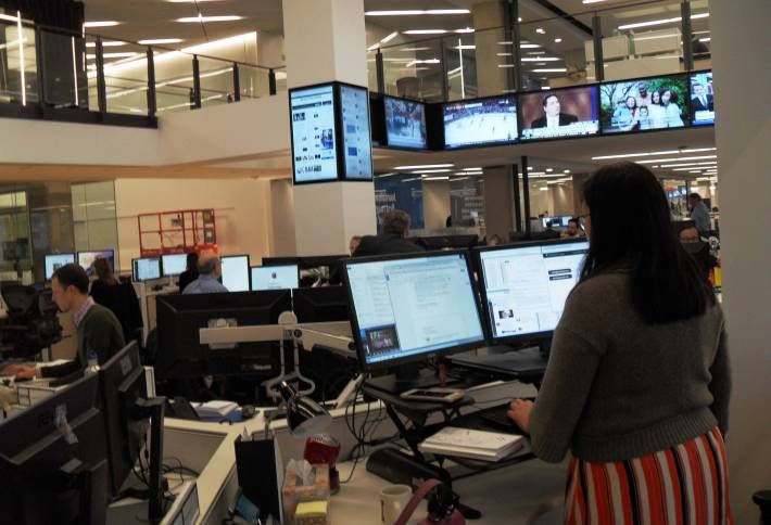 Behind the Scenes of the Washington Post's New Digs at One Franklin Square