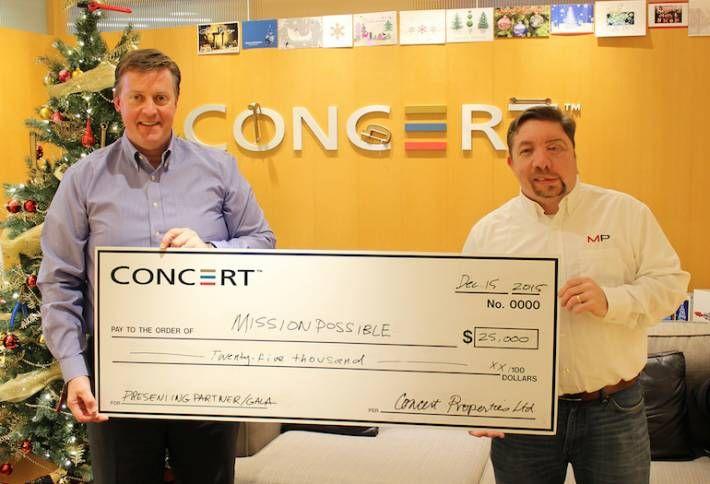 Concert Makes the Season Merry for Aspiring Tradespeople