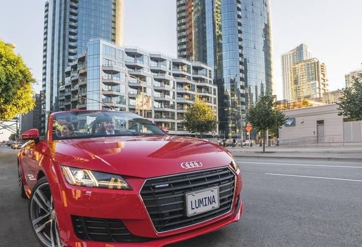 Lumina and Audi Luxury Carsharing Program Marks a West Coast First