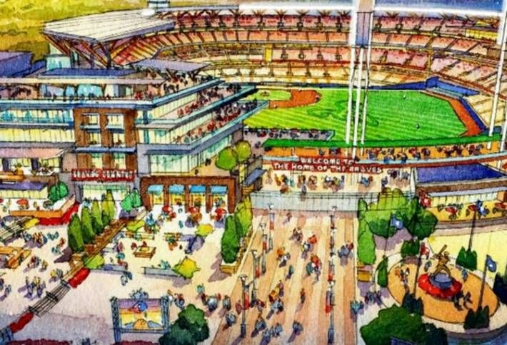 Carter, GSU Tapped For $300M Turner Field Project