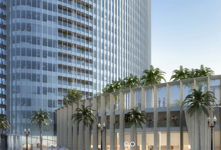 Nate Bosa Pacific Gate Condominium project in Downtown San Diego