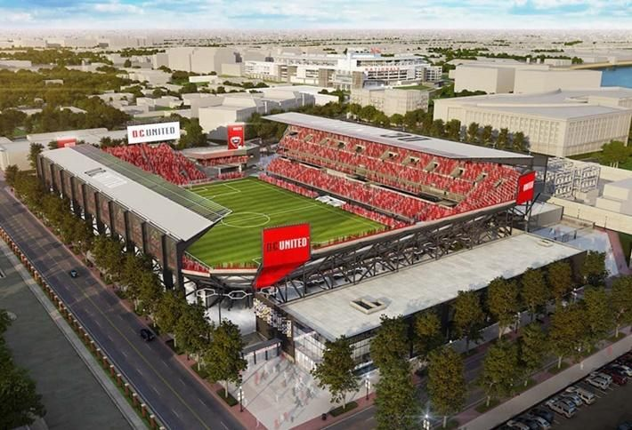 New Renderings Are Out For DC United's Stadium