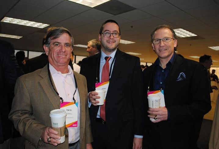 PegasusAblon principal Mike Ablon (right) Stream EVP Tim Terrell and Madison Title's Josh Quinn