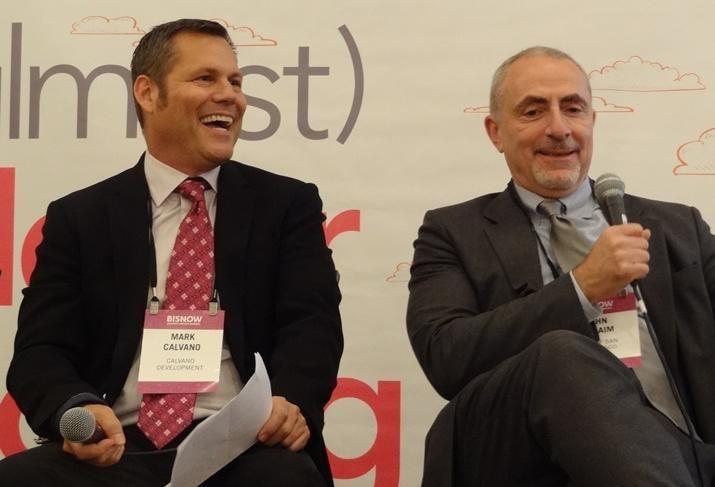 Mark Calvano and John Rahaim, San Francisco planning director, speak at San Francisco State of the Market 2016