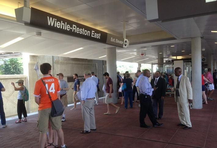 Urban Street Grids In Works For Future Reston Metro Stations