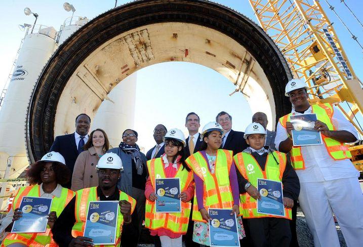'Harriet' Will Bore Transit Tunnels Near Baldwin Hills Crenshaw Plaza