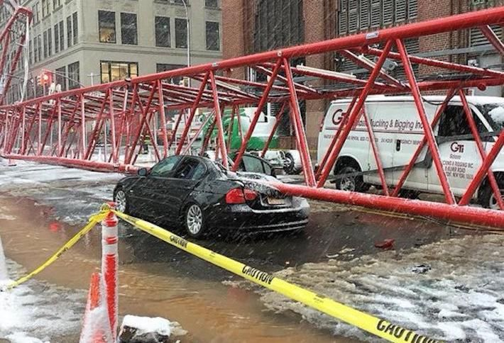 Crane Collapse In Tribeca Leaves One Dead, At Least 15 Hurt