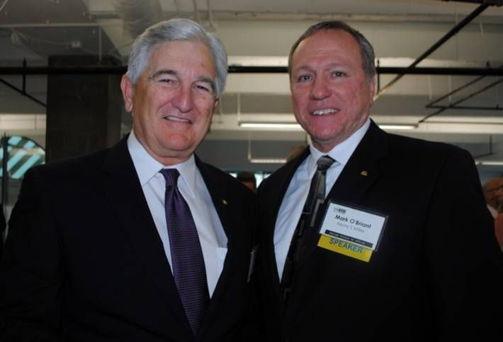 HSM president and COO Dan Arnold and Henry S. Miller management, appraisal/consulting president Mark O'Briant