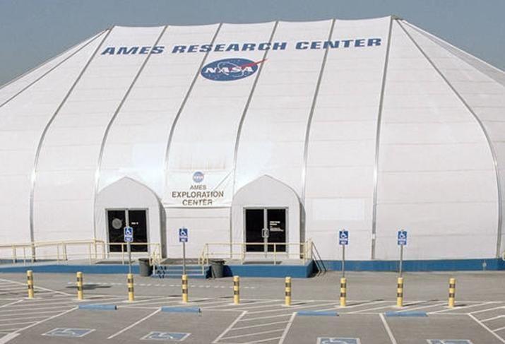 NASA Ames Research Center at Moffett Field credit: NASA Ames