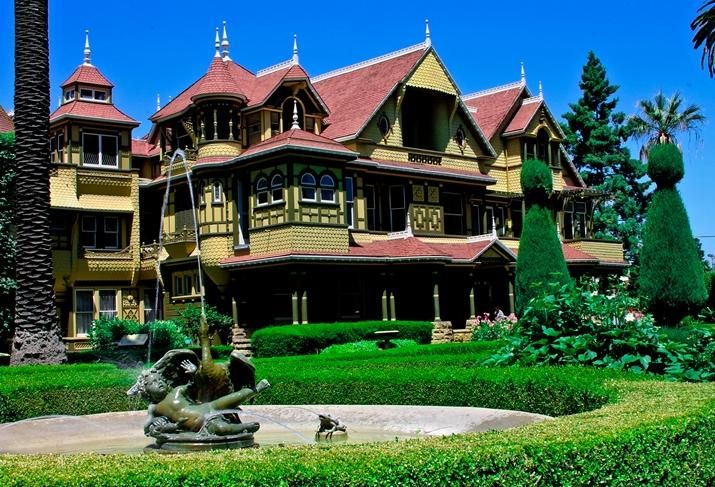 Winchester Mystery House in San Jose credit: Winchester Mystery House