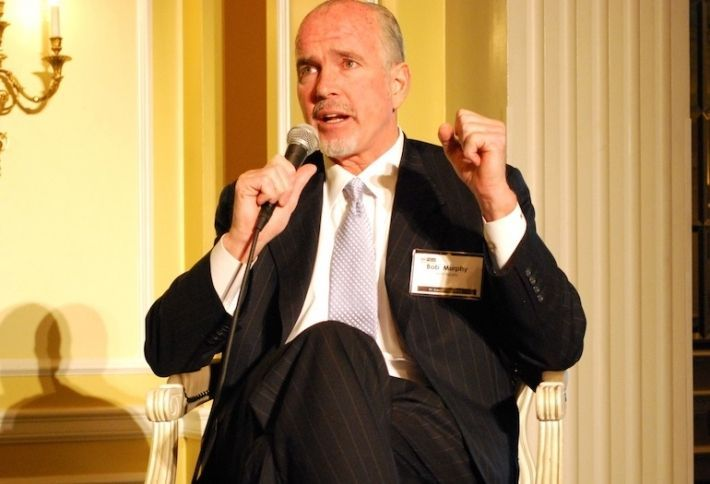 MRP Realty's Bob Murphy at Bisnow DC state of office event 2014