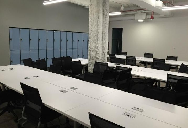 A look at MakeOffices' 45k SF space atRiver North Point, Chicago