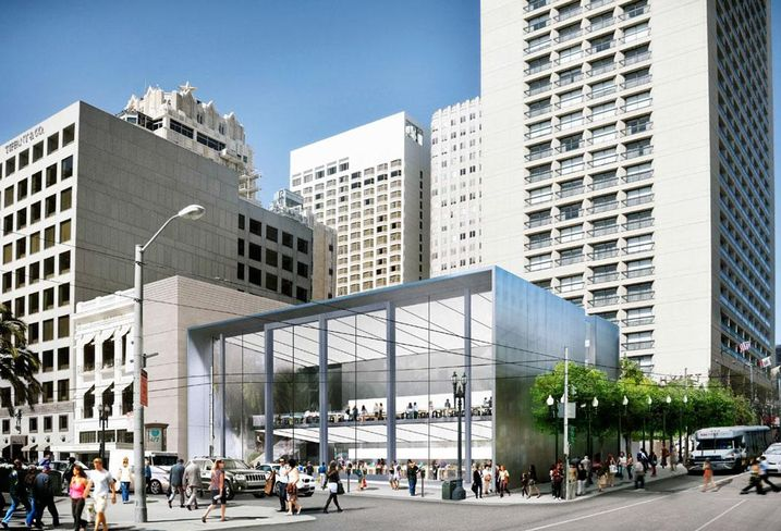 Apple's New S.F. Flagship Store