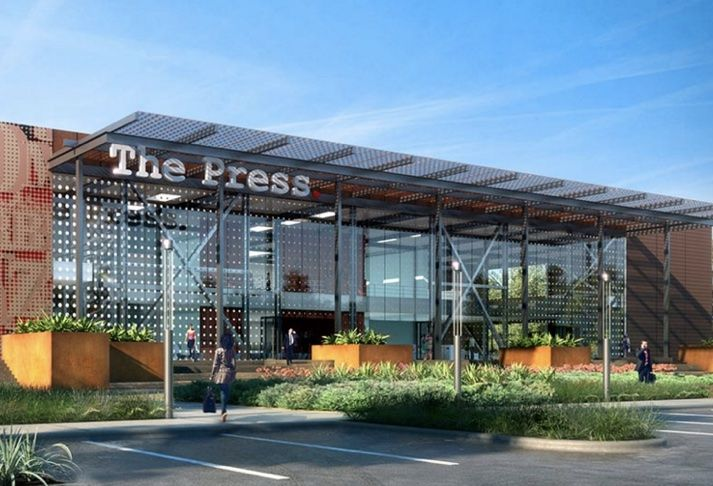 Former LA Times Printing Plant In Costa Mesa To Become Creative Space