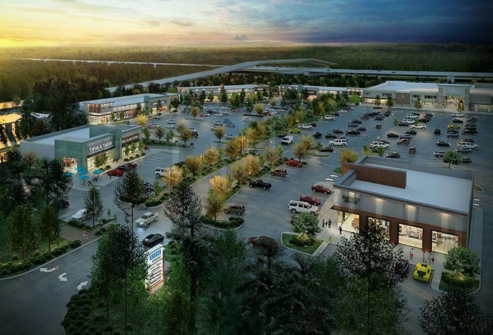 Newly-Phased Springwoods Village Shopping Center Breaking Ground