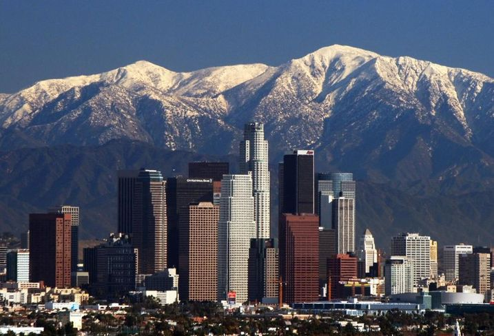 LA Skyline, Credit Wiki Commons User Nserrano