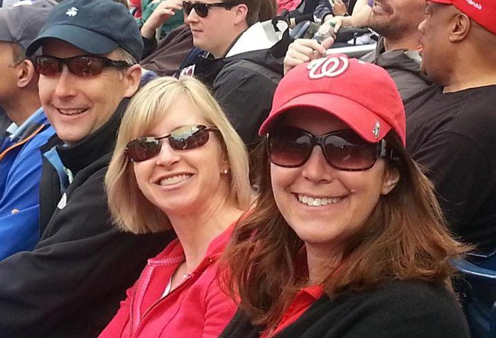 Kettler's Andy Buchanan, Leslie Furst and Pam Tyrrell