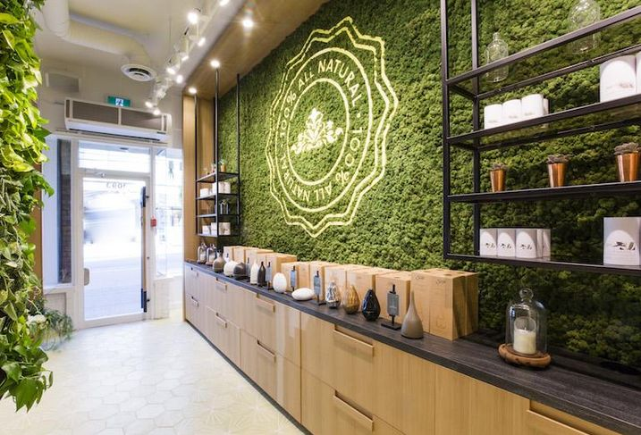 Saje Natural Wellness' New Robson Street Store Has A Nebulizer Bar