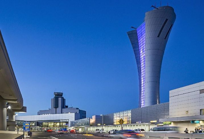 SFO's New Air Traffic Control Tower Takes Top Engineering Honors