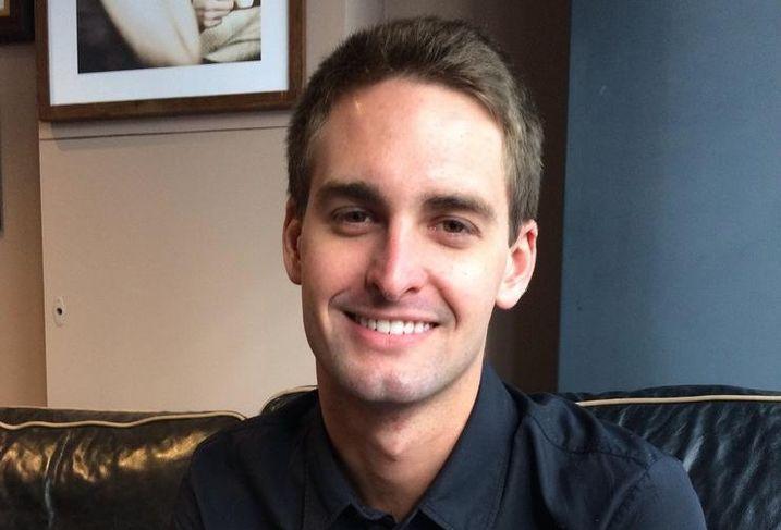 CEO Evan Spiegel