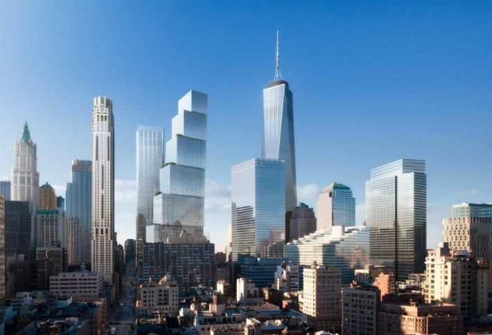 Silverstein Said To Be Leaning Towards BIG's Design For 2 World Trade