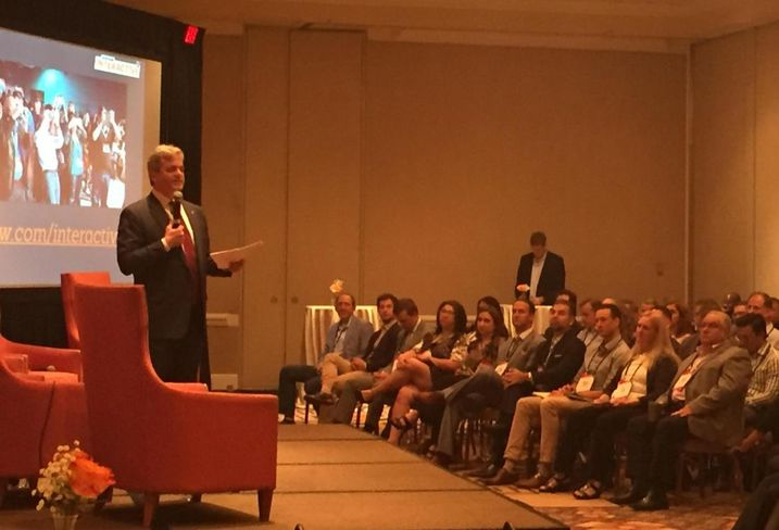 Austin Mayor Steve Adler at Bisnow's Austin hospitality event Apr 2016