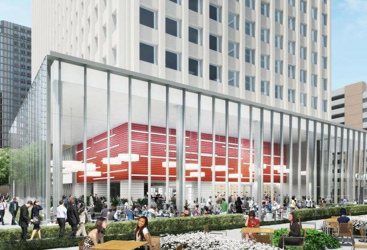 Downtown Redevelopment Craze Spreads To Allen Center