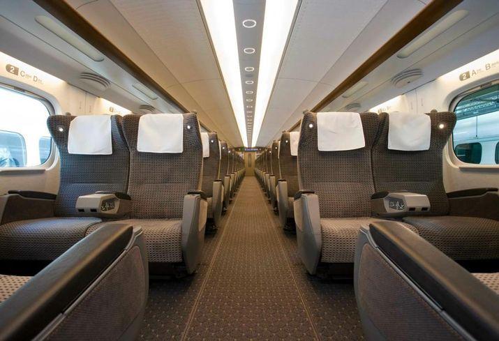 First Class Bullet Train