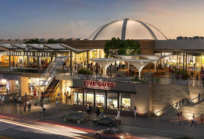 Burbank Town Center Could Be Redeveloped